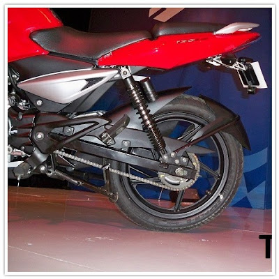Indonesian Pulsar 135LS, Rear Fender
