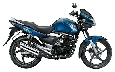 Suzuki GS150R Wallpaper Blue