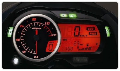 Suzuki GS150R Digital Speedometer