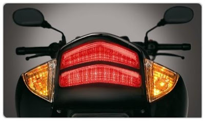Suzuki GS150R Taillamp