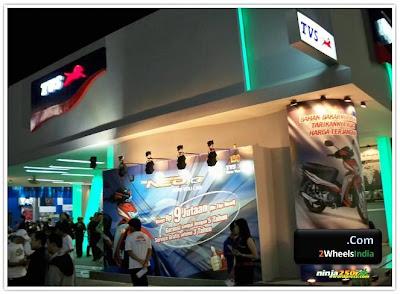 TVS Stall @ Jakarta Fair 2010