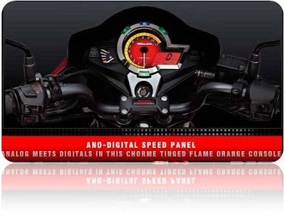 Hero Honda Hunk Digital Speedometer