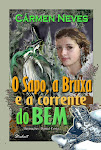 Meu novo livro - O sapo, a bruxa e a corrente do bem. A princesa da capa  a minha filha Jssica.