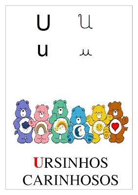 Alfabeto com Personagens Infantis