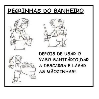 REGRAS BANHEIRO 702909 Regras de Respeito para crianças