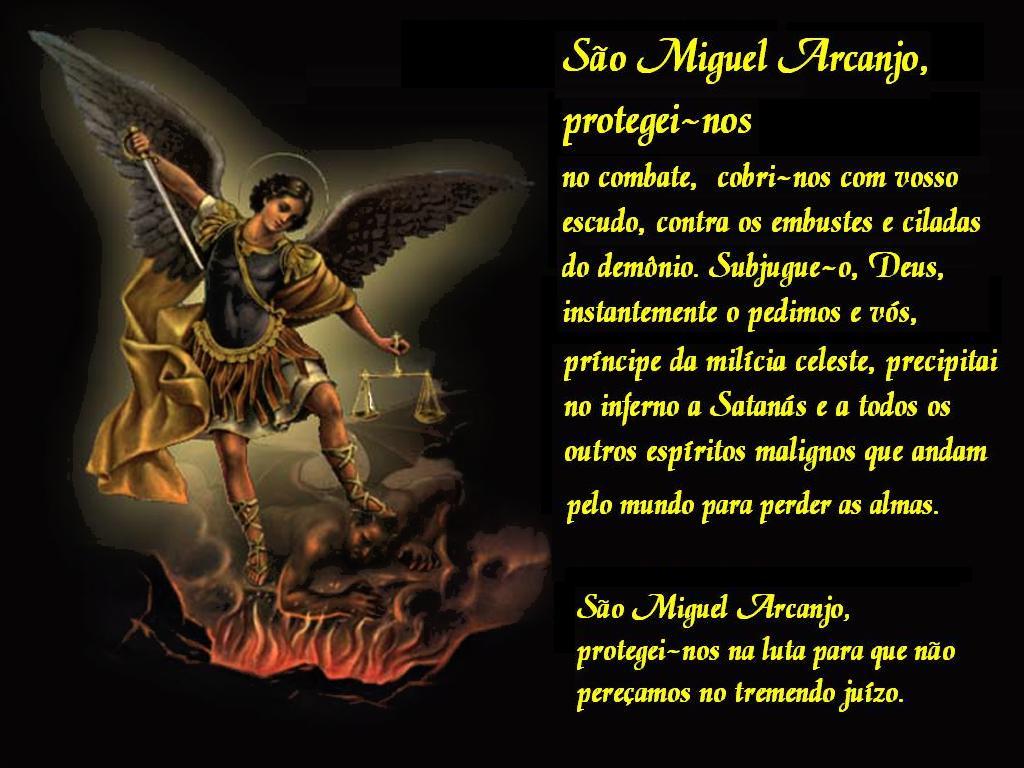 Imagens de São Miguel Arcanjo para decoupage