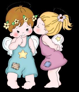 Crianças Anjinhos