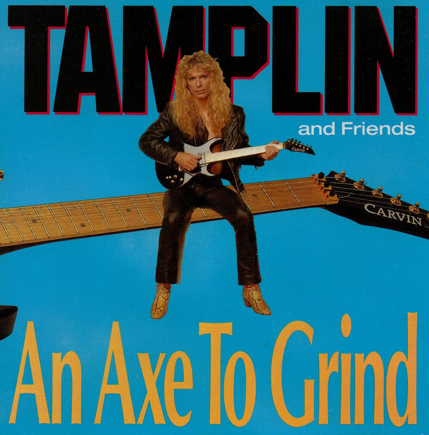 CRISTO LA ROCKA DE MI VIDA: Ken Tamplin....An Axe To Grind