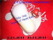 """""""1st Giveaway Sweetmama: Teka - Teki  Zaquan & Tapak Kaki"""""""