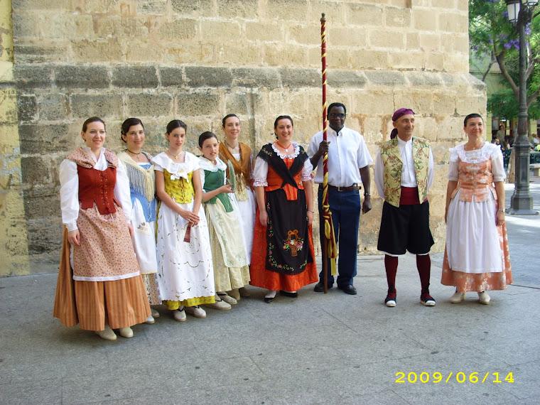 Corpus 2009.El ball del Pal de Sueca