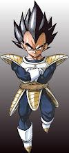 **Segundo saiyajin acompañado por Nappa,Vegeta hijo**.