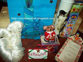 Intercambio Navidad organizado por Daiana