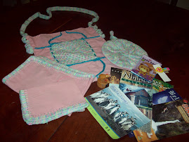Estos regalitos yo le envié a Silvia.