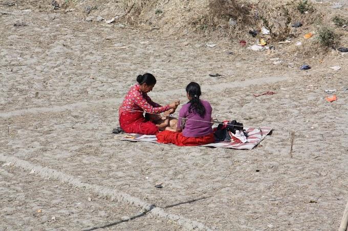 ネパールのベビーマッサージ事情