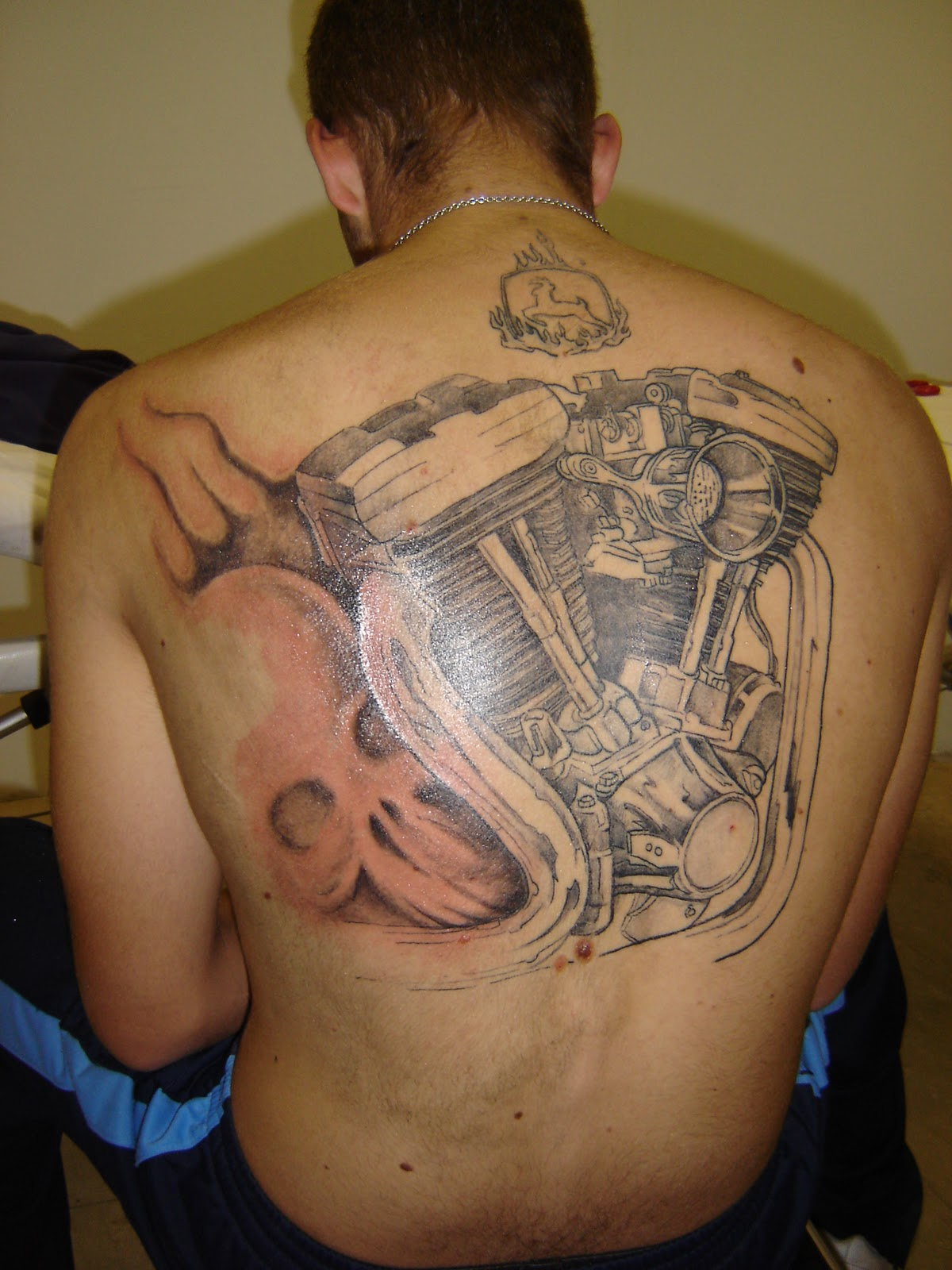 Cyborg Tattoo