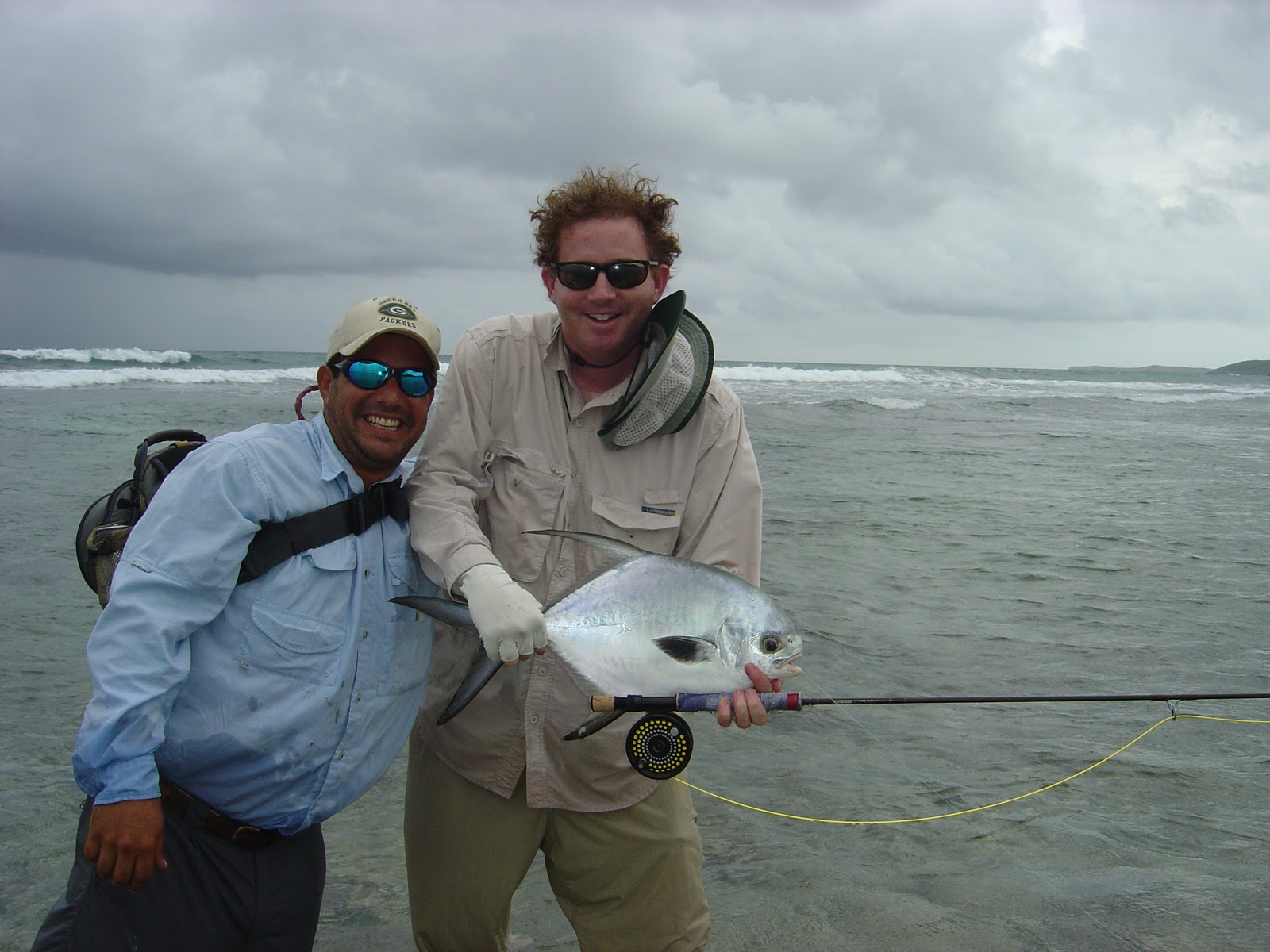 The pine island angler permit on fly vieques puerto rico for Fly fishing puerto rico