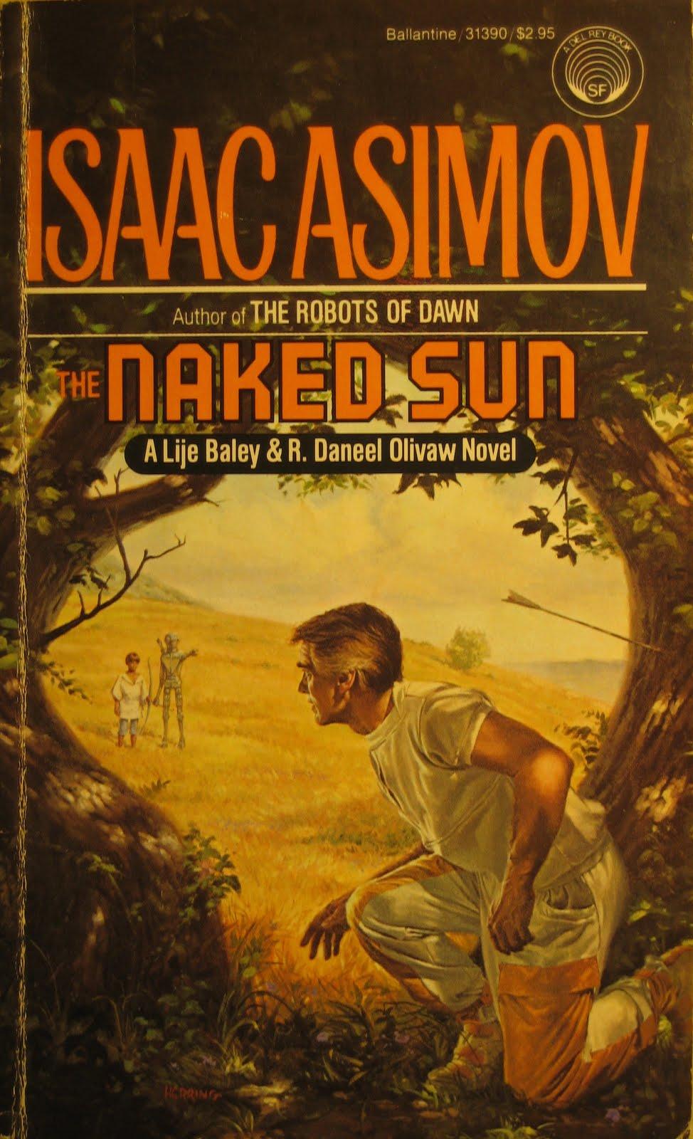 Isaac Asimov BALEY & OLIVAW ROBOT Lot of 4 paperback CAVES