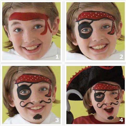 Maquillaje artistico infantil paso a paso fotos 34