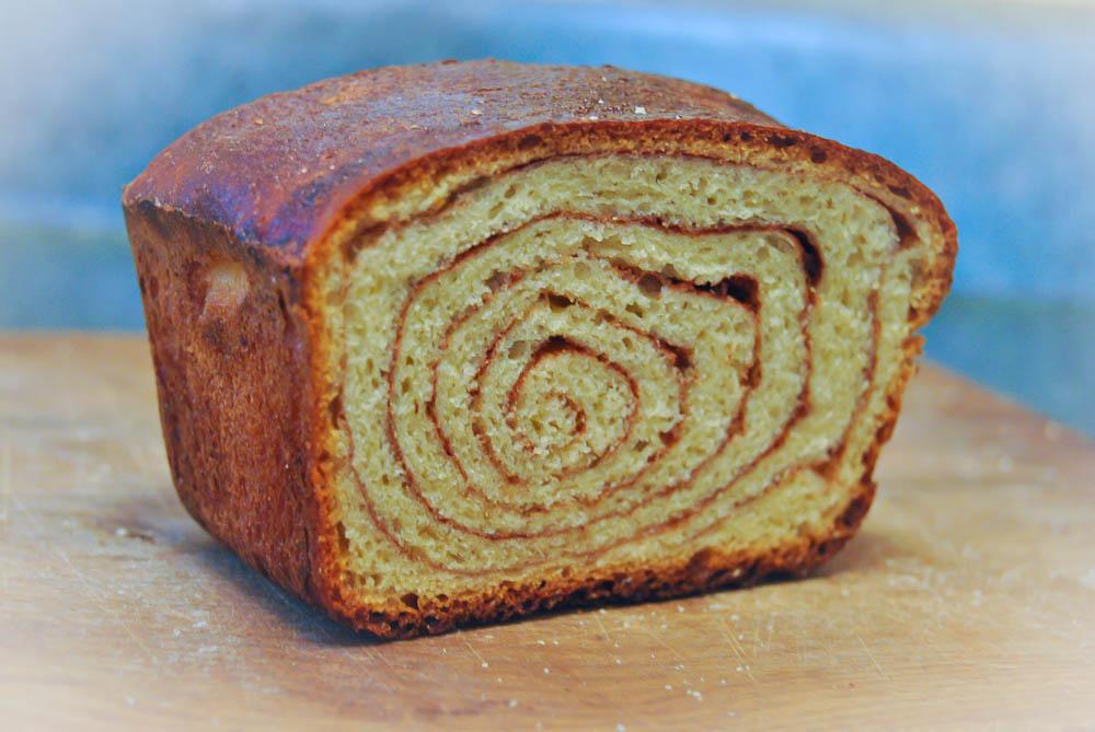 Home Made Cinnamon Bread ~ Pancake Ninja