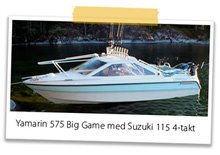Båten : Yamarin 575 Big Game