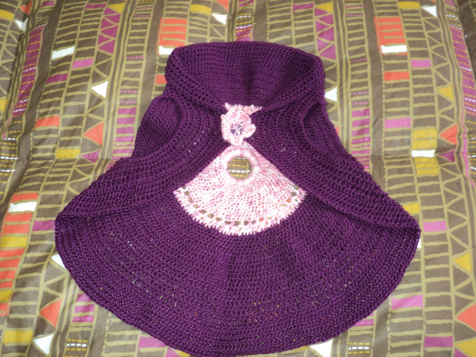Bolero Tejido a Crochet De Nina