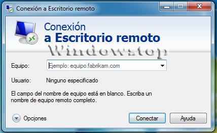 Windowstop conexi n a escritorio remoto - Conexion a escritorio remoto windows xp ...