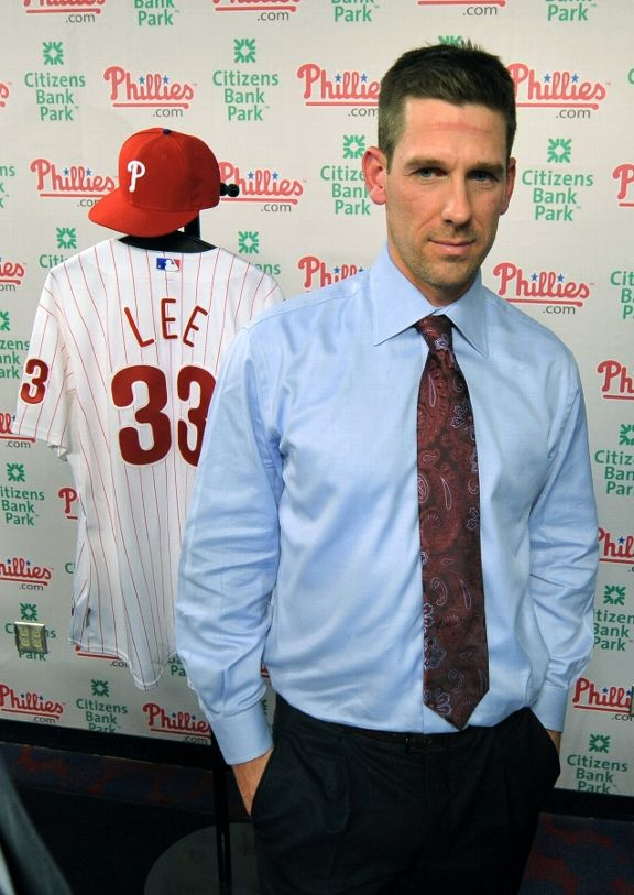 Cliff Lee. ace pitcher Cliff Lee then