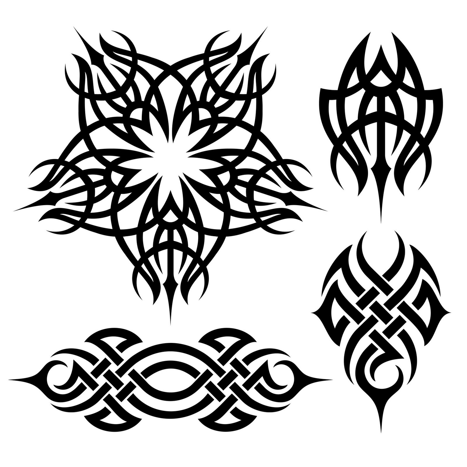 Full Size Download Free Tribal Tattoos New Tribal Tattoo Designs Best