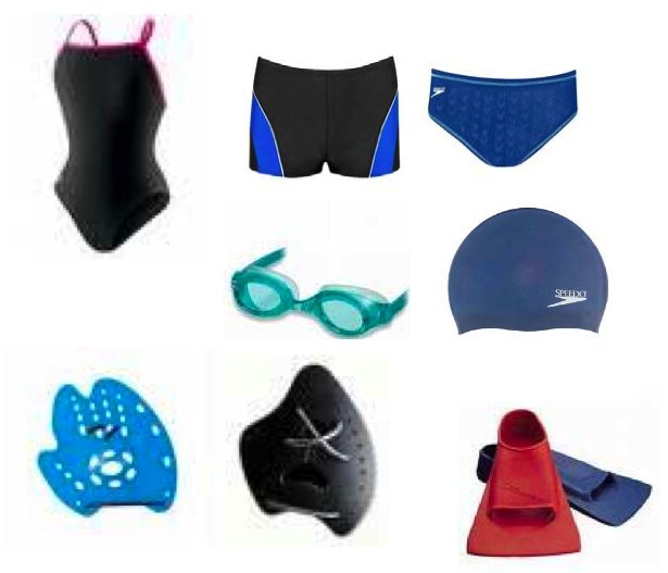 swimming equipment bag