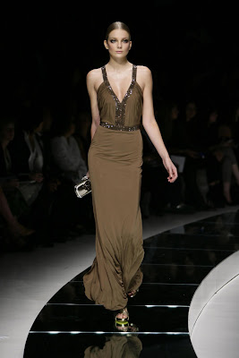 Versace Spring Summer 2009 Womens Runway Pictures