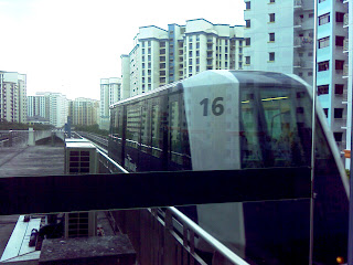 Sengkang Driverless Light-Rail Transit