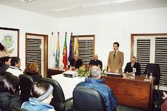 Inauguração do site da Junta Curvos www.jf-curvos.pt