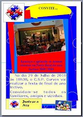 FESTA DE FINAL DE ANO LECTIVO DO CENTRO SOCIAL DE CURVOS