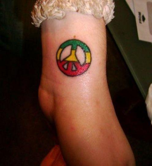 peace sign tattoos on wrist online fonts generator disney