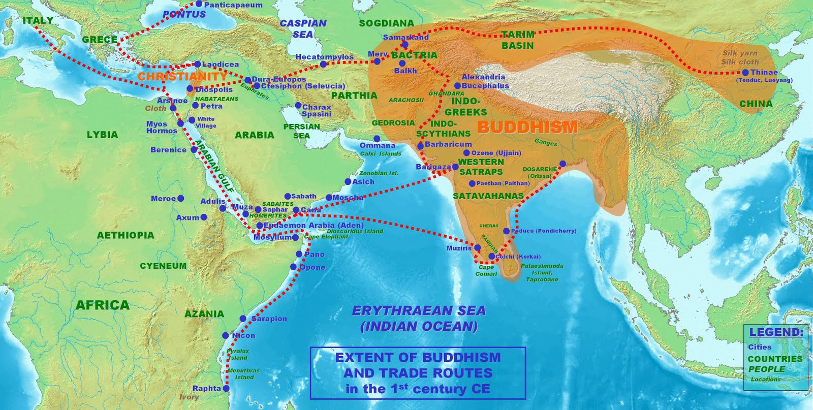 Spread Of Jainism Map MARXIST: Spread...