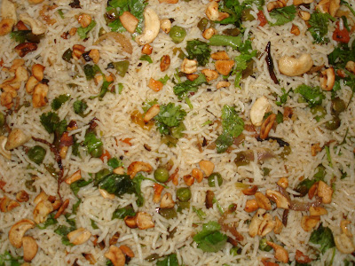 Padmaja's Delicious Indian Recipes: VEGETABLE FRIED RICE