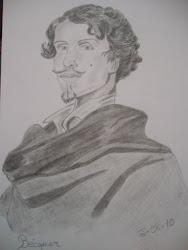 Gustavo Adolfo Bécquer. 1836-1870 Poeta español.
