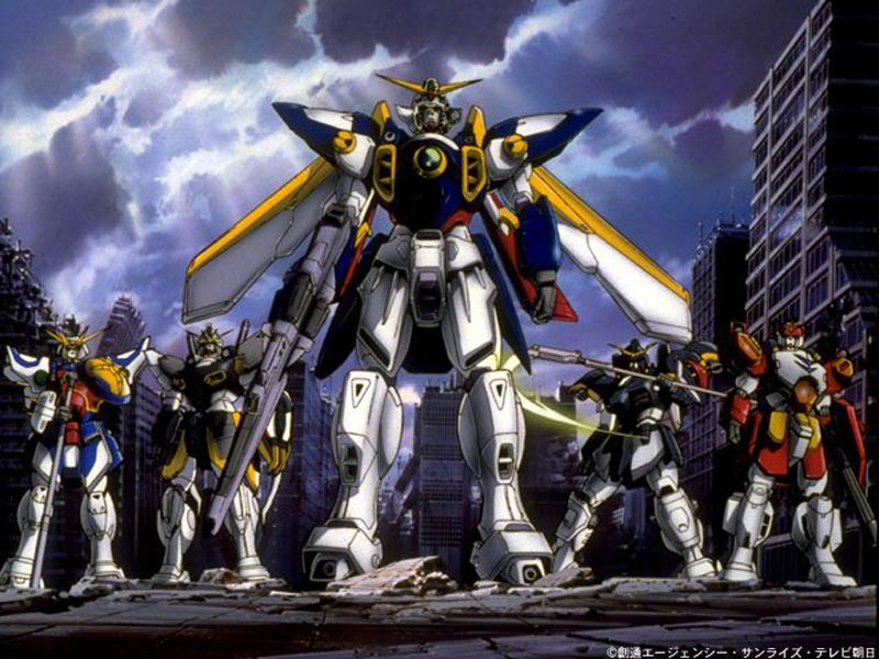 gundam wallpapers. Gundam Wing Wallpaper Gallery
