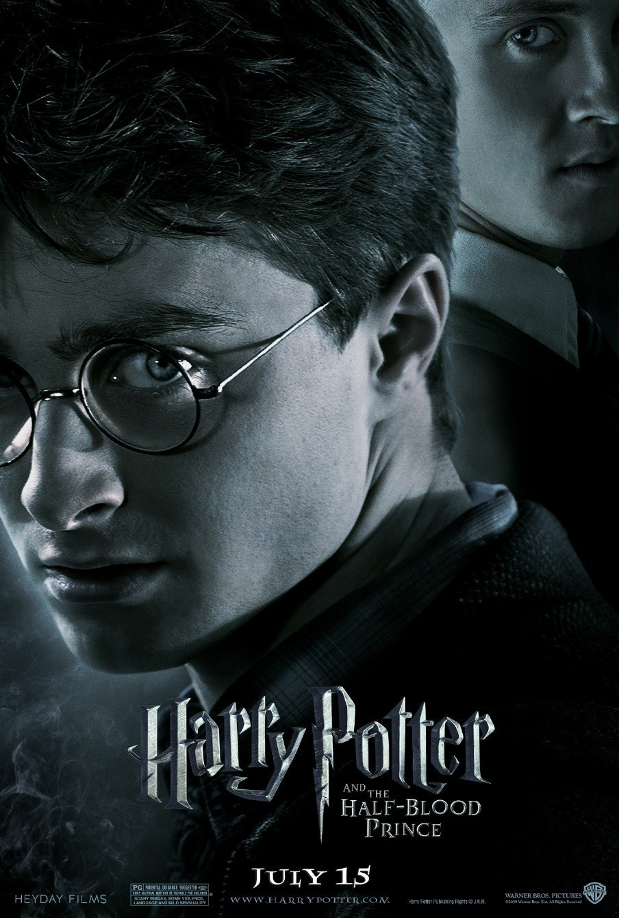 free movie poster harry potter and the half blood prince