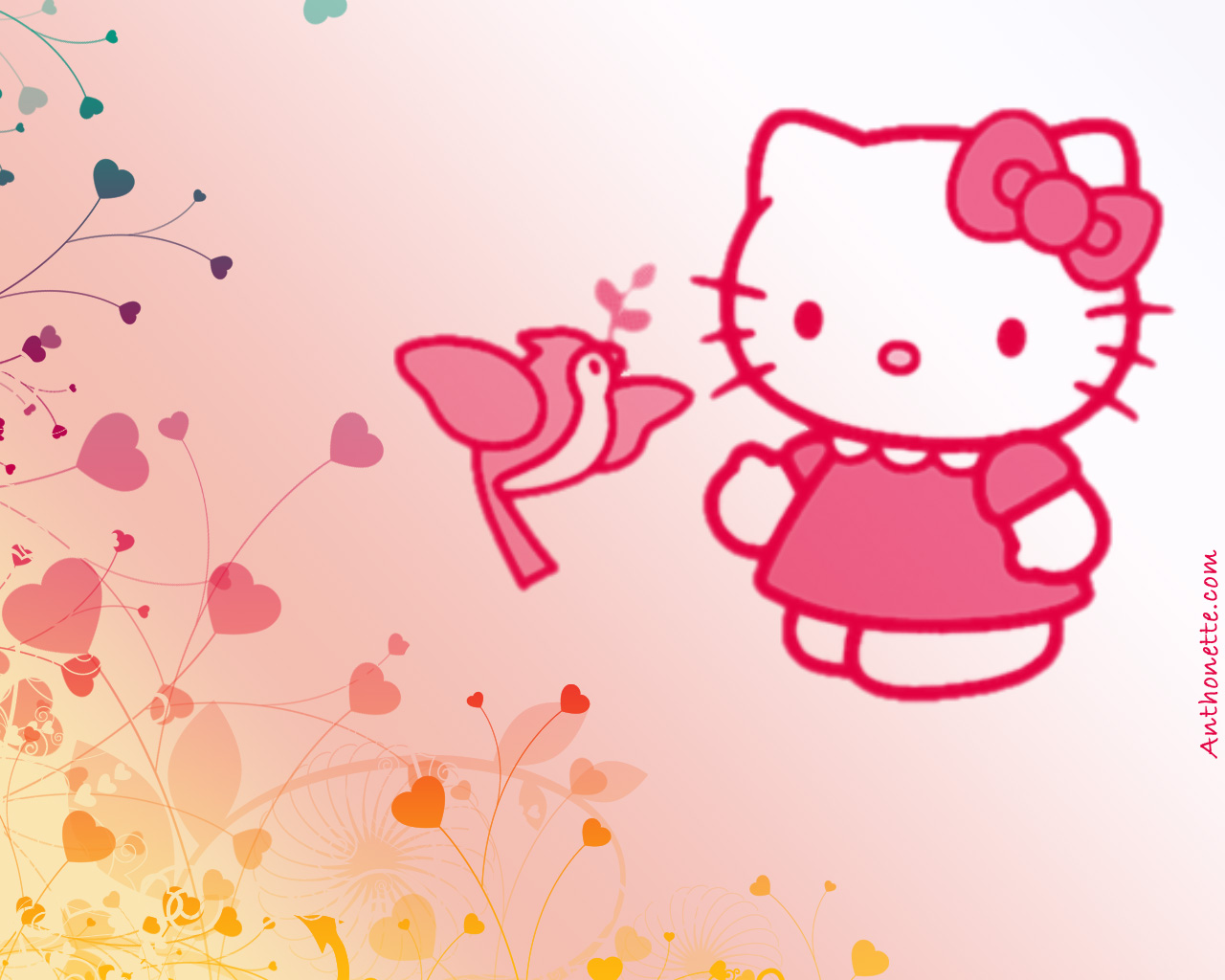 hello kitty wallpaper red hd - photo #28