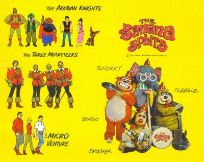 Bilinick: Banana Splits Wallpaper