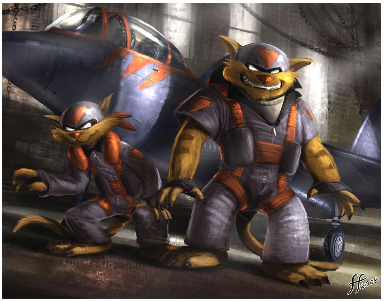 Swat Kats Wallpaper