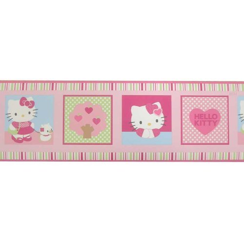 wallpaper borders for nursery. Hello Kitty Wallpaper Border