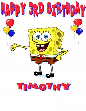 spongebob birthday wallpapers
