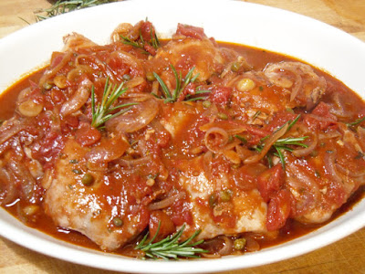 Braised Chicken with Tomato and Rosemary - A Dash Of ...