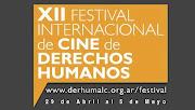 XII Festival Internacional de Cine de Derechos Humanos