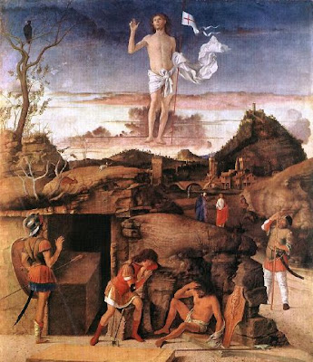 Giovanni Bellini, Resurrection of Christ, 1475-79. Staatliche Museen, Berlin