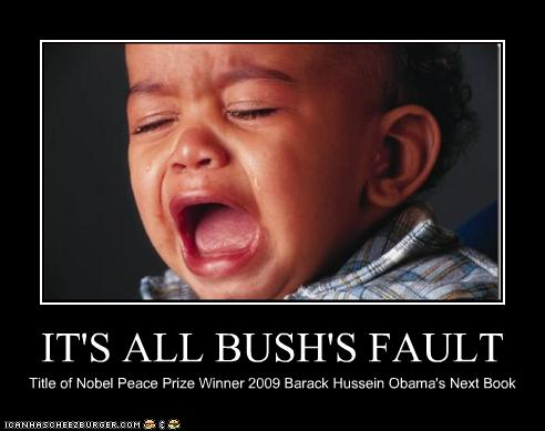 its all george bush s fault