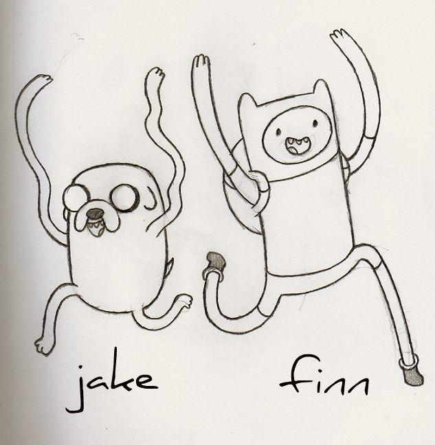 Dorable Tiempo De Aventura Para Colorear Páginas Finn Y Jake ...