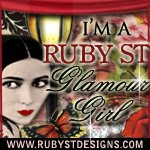 I am a Ruby St Glamour Girl...
